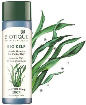 Biotique Advanced Ayurveda   BIOTIQUE Bio Kelp Protein Shampoo For Falling Hair