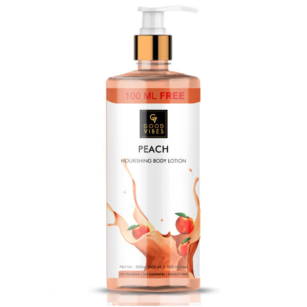Good Vibes | Good Vibes Peach Nourishing Body Lotion (400ml + 100 ml free)