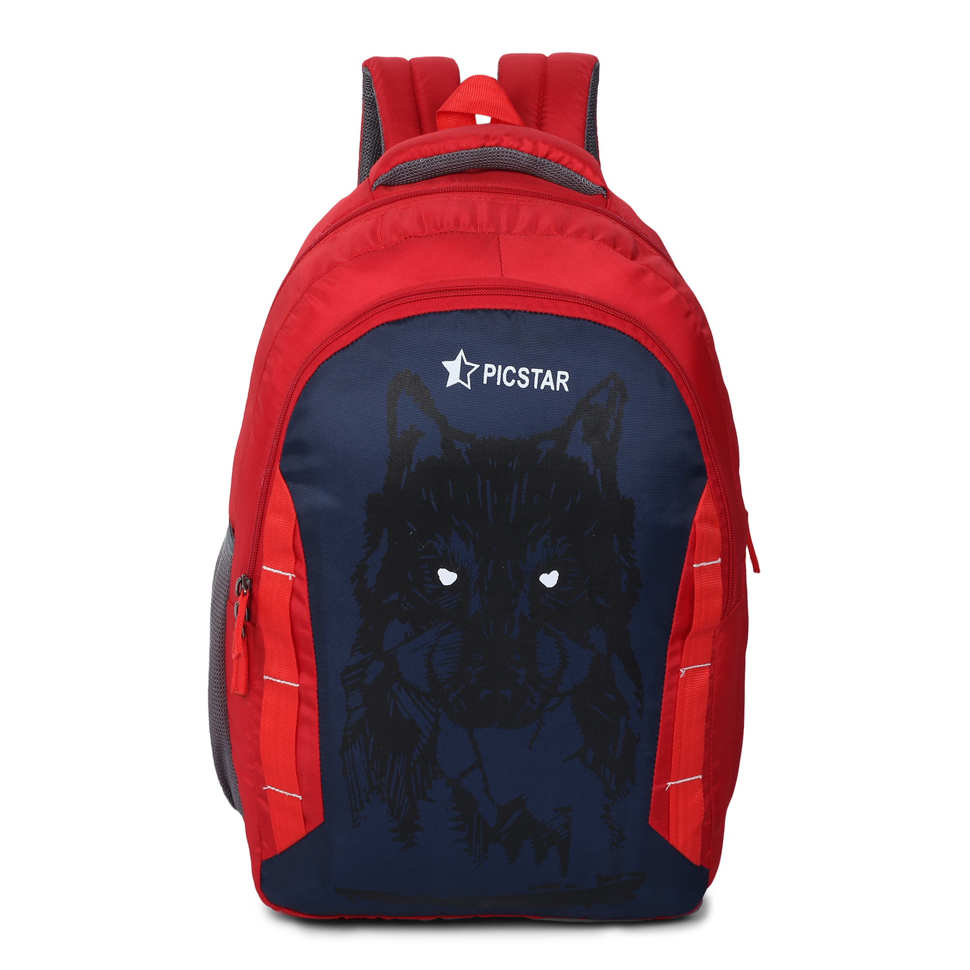Picstar | Picstar Daredevil 35 L Red Backpack for Men and Women|Unisex Backpack|College Bag for Boys and Girls|office Backpack |School Bag|Trendy Backpack|Stylish Backpack