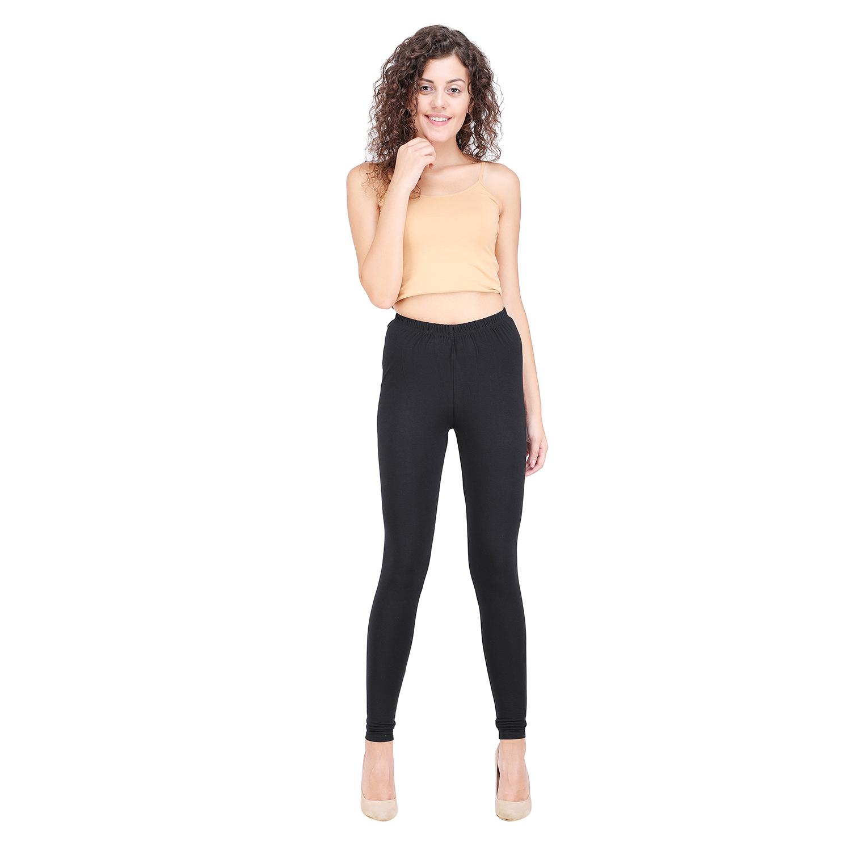 SPIFFY | SPIFFY Women Full Length Casual Black Leggings