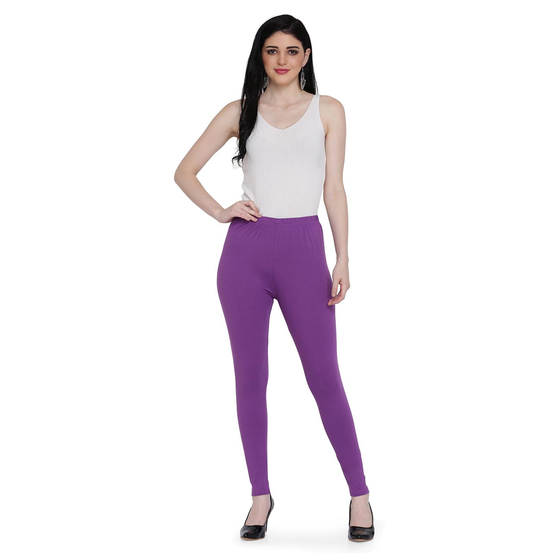 SPIFFY | SPIFFY Women Full Length Casual MAUVE Leggings