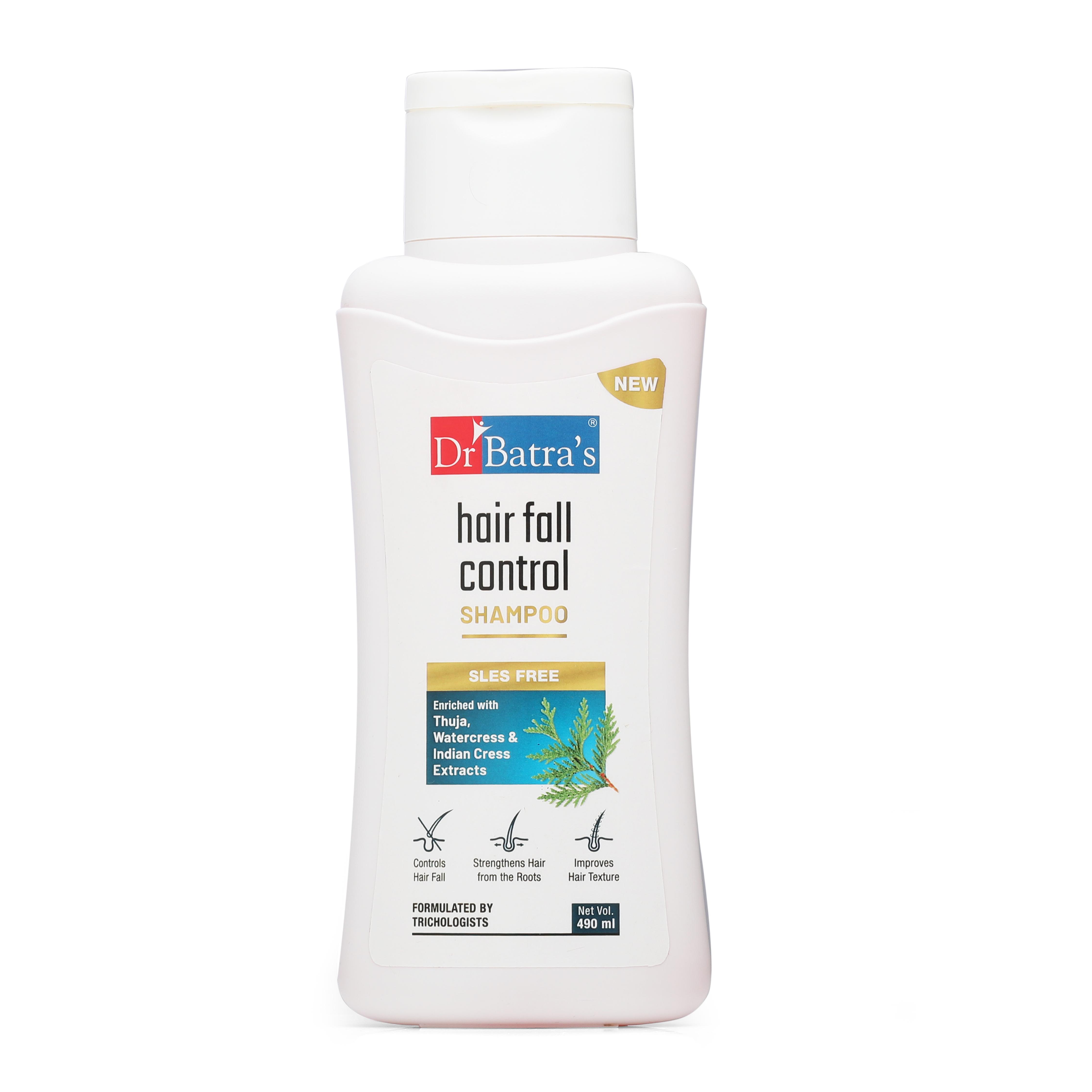 Dr Batra's | Dr Batra's Hair Fall Control Shampoo - 490 ml
