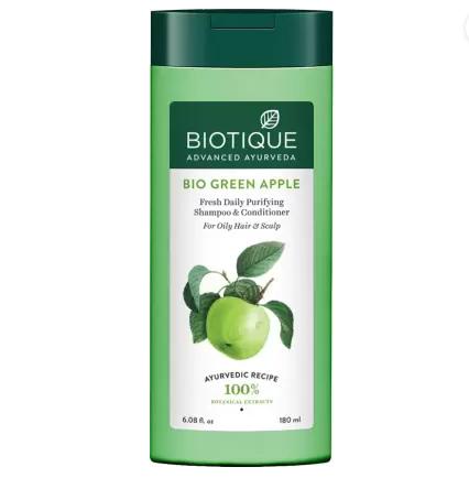 Biotique Advanced Ayurveda | BIOTIQUE Bio Green Apple Shampoo & Conditioner