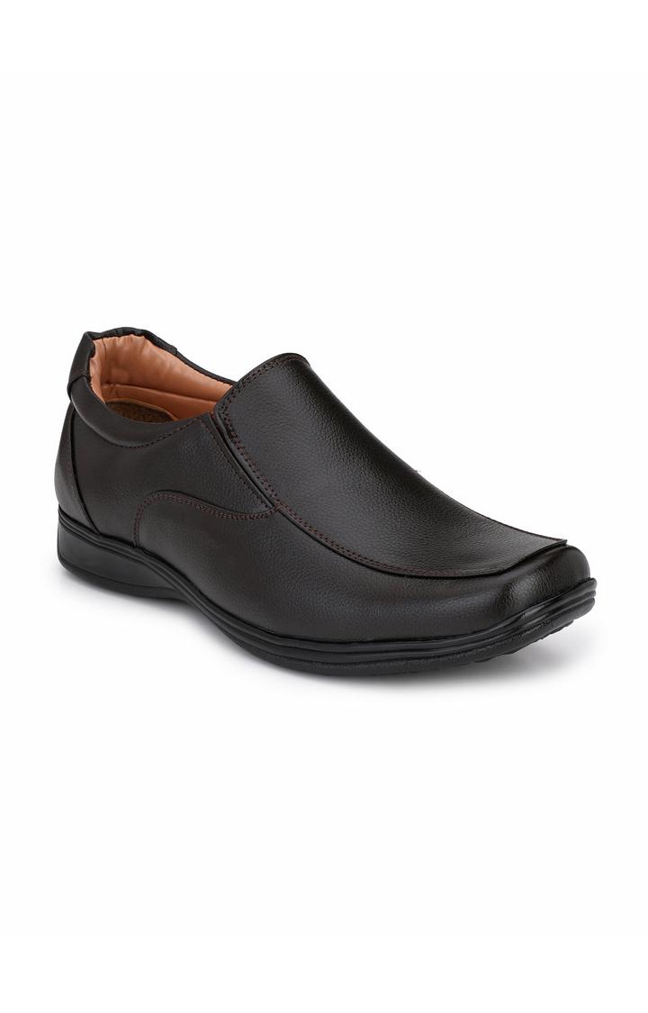 Guava | Guava Men Slip-on formal Shoes  - Brown