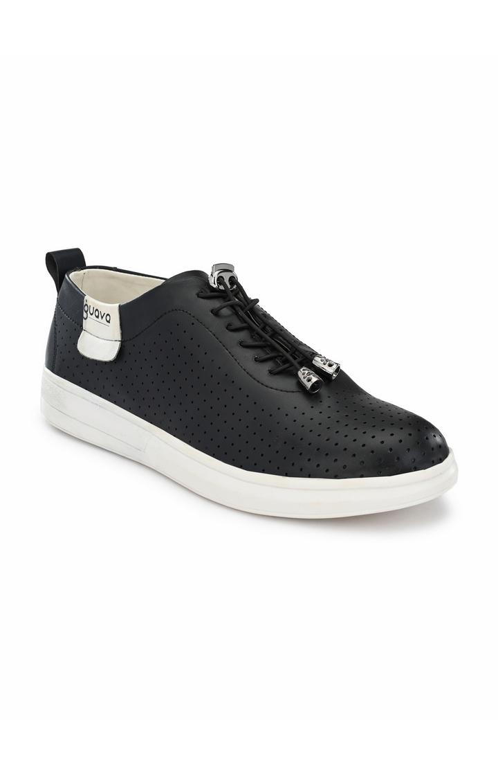 Guava | Guava Casual Stylo Sneakers - Black
