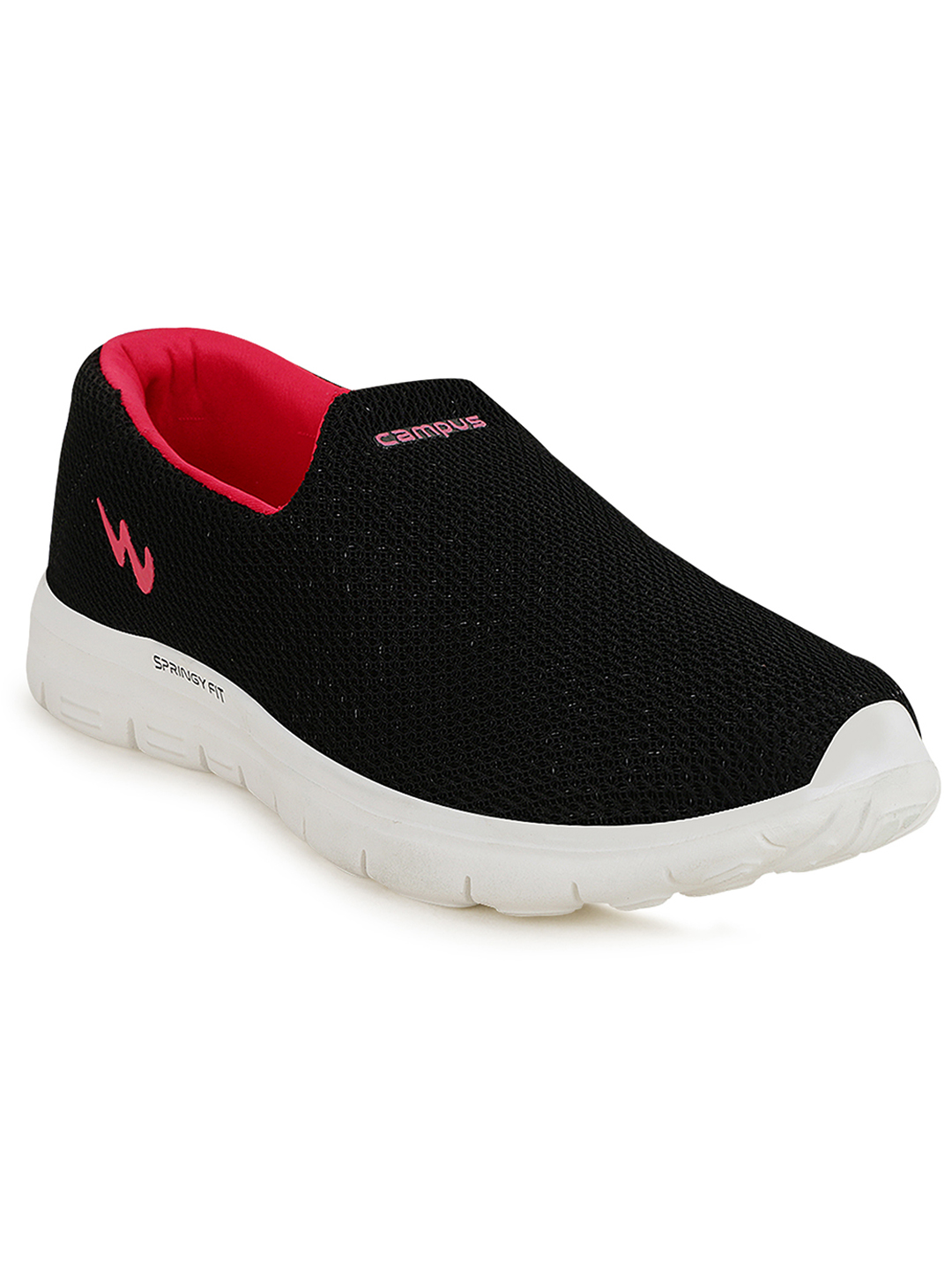 Campus Shoes | Black Zoe Pro Running Shoes