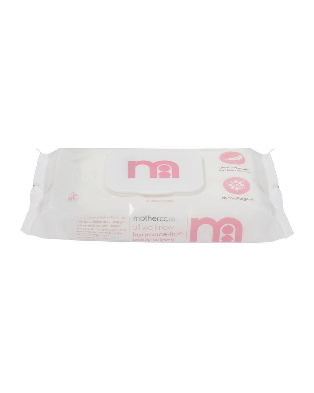 Mothercare | White All We Know Fragranced Baby Wipes - Set of 60