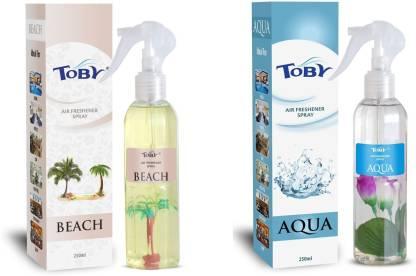 Toby | TOBY Beach & Aqua Air Freshener (Room Spray) - (250mlx2)
