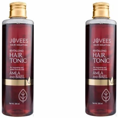 Jovees | JOVEES Revitalizing Hair Tonic-Amla and Bael (200mlx2 Pack Of 2)