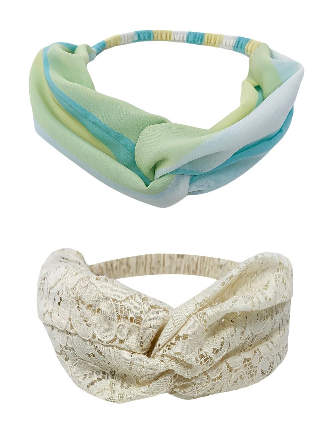 Mint & Oak   Mint & Oak Hot Mess Hairbands for Women - Pack of 2