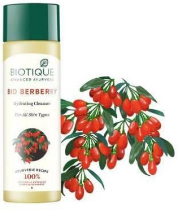 Biotique Advanced Ayurveda   BIOTIQUE Bio Berberry Hydrating Face Cleanser (120 ml * 2)