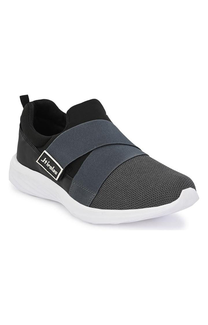 Hirolas   Hirolas Men's Mesh Grey Running/Walking/Gym Sports Sneaker Shoes