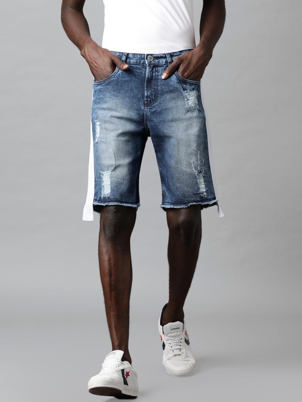 Blue Saint | Blue Saint Men's Blue Shorts