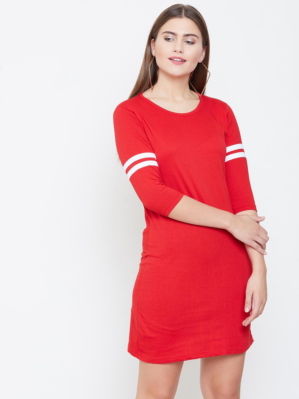 Jhankhi | Red Shift Dress