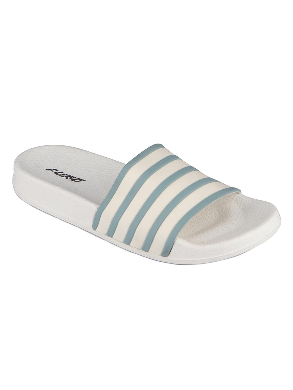 Furo | Furo White/Blue Flip-Flop For Women FWS009 157