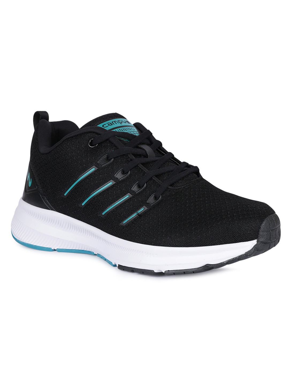 Campus Shoes   Black Vacum Running Shoes