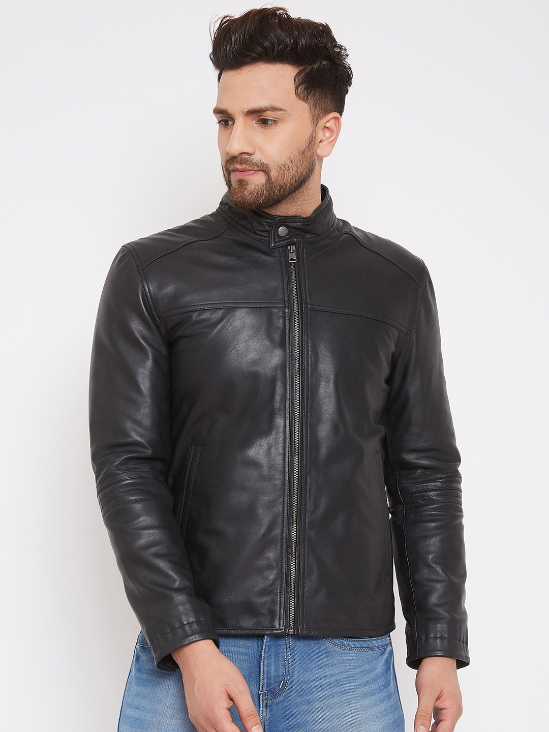 Justanned | JUSTANNED MEN GENUINE REAL LEATHER JACKET