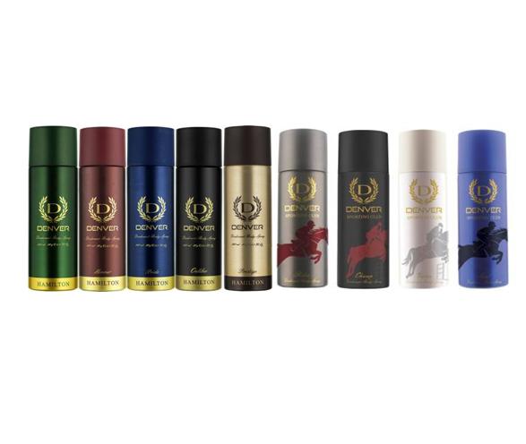 Denver | Denver all 11*2 variant Deodorant Spray - For Men