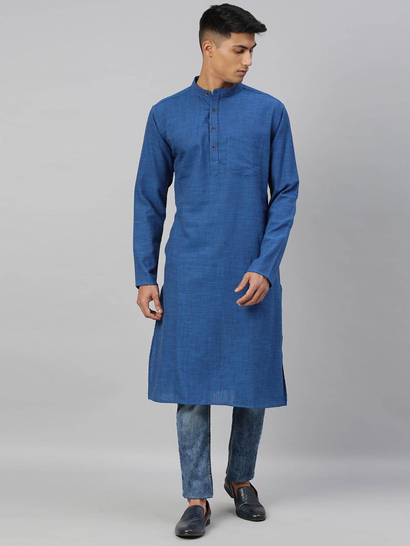 Kryptic | Kryptic Mens 100% Cotton long kurta