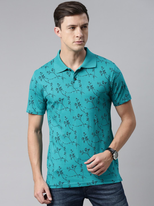 Kryptic | Kryptic Mens 100% Cotton printed Polo Tshirt