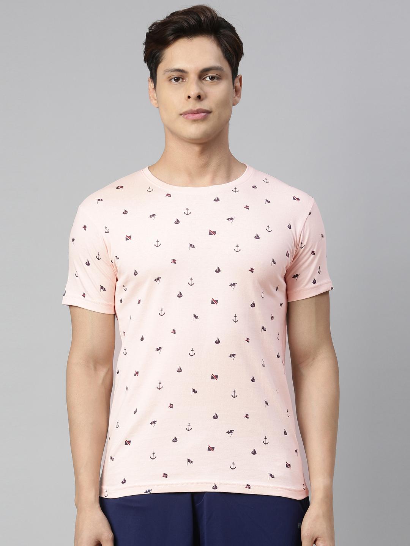 Kryptic   Kryptic Mens 100% Cotton all over printed tshirt