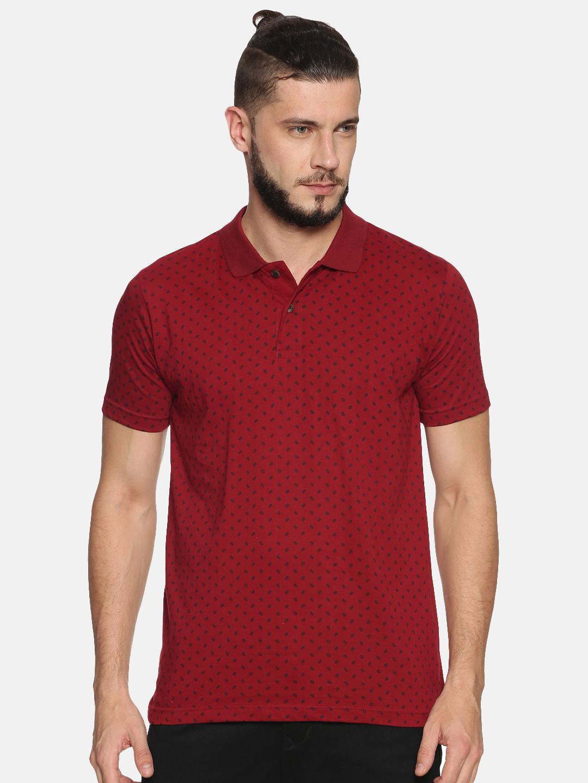 Kryptic   Kryptic Men's Triangle printed polo Tshirt
