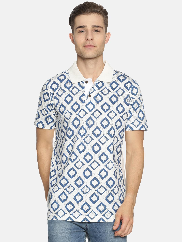 Kryptic | Kryptic Men's Printed polo tshirt