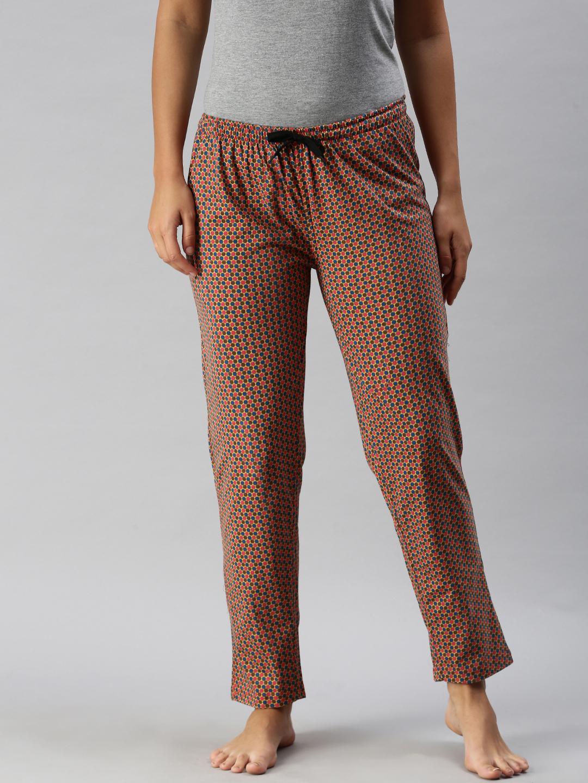 Kryptic   Kryptic Womens 100% Cotton printed lounge pant