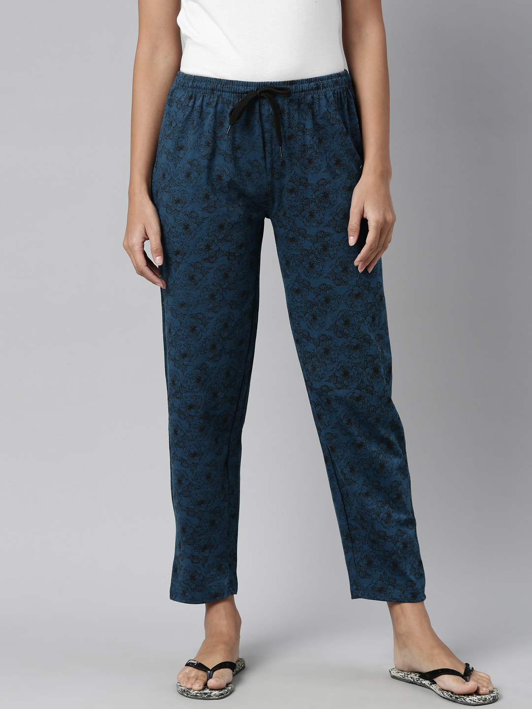 Kryptic | Kryptic Womens 100% Cotton all over printed lounge pant
