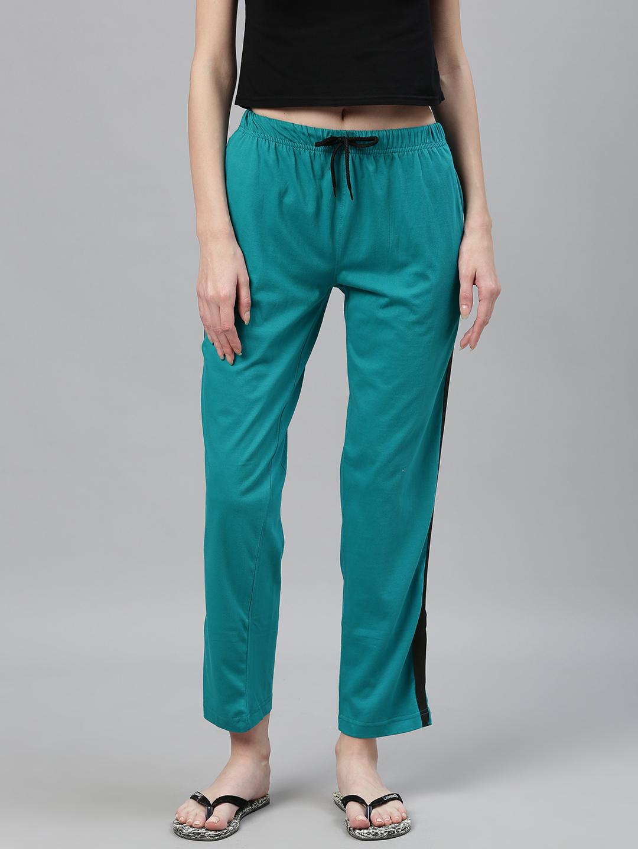 Kryptic | Kryptic womens 100% Cotton solid nightpant