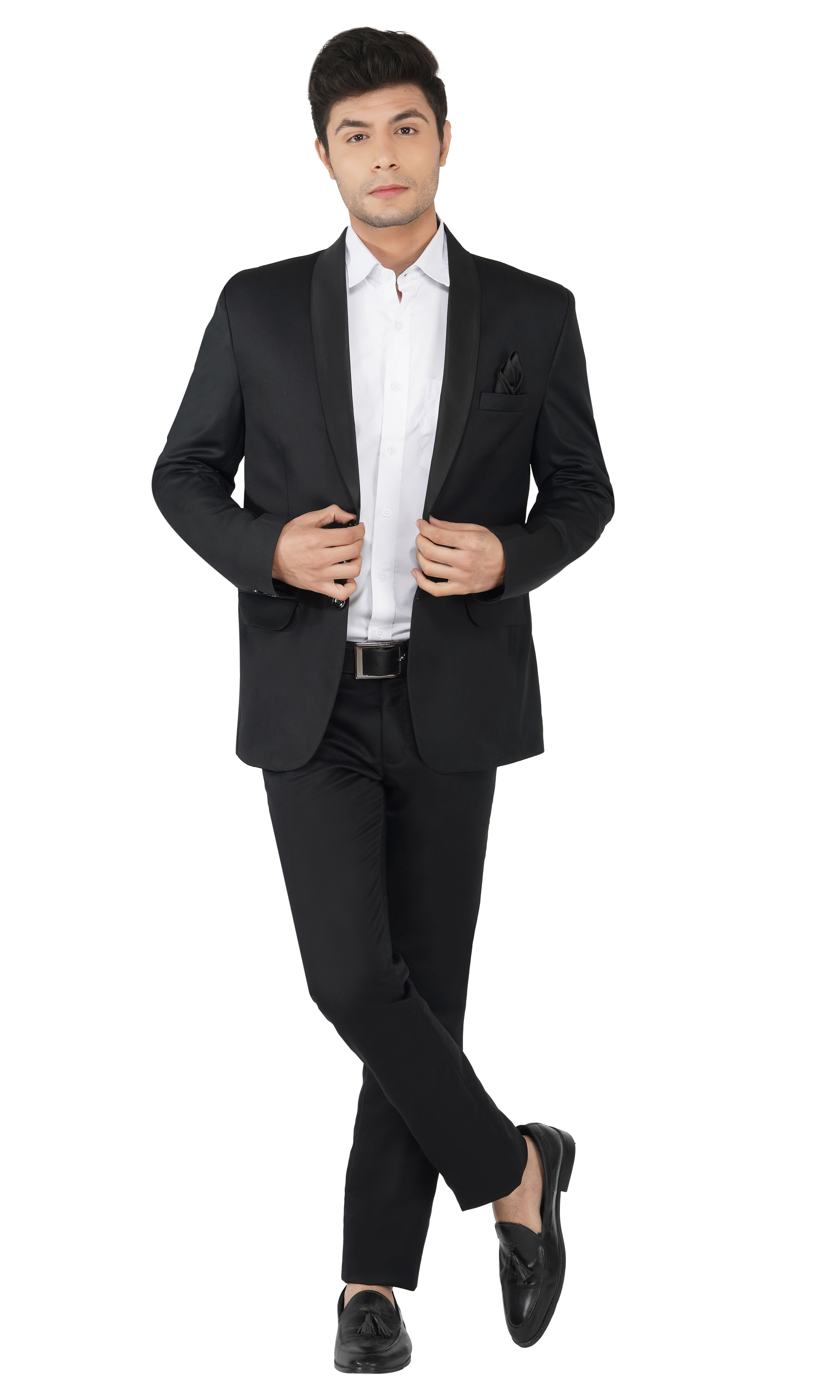 TAHVO | Black Tuxedo Men Suit