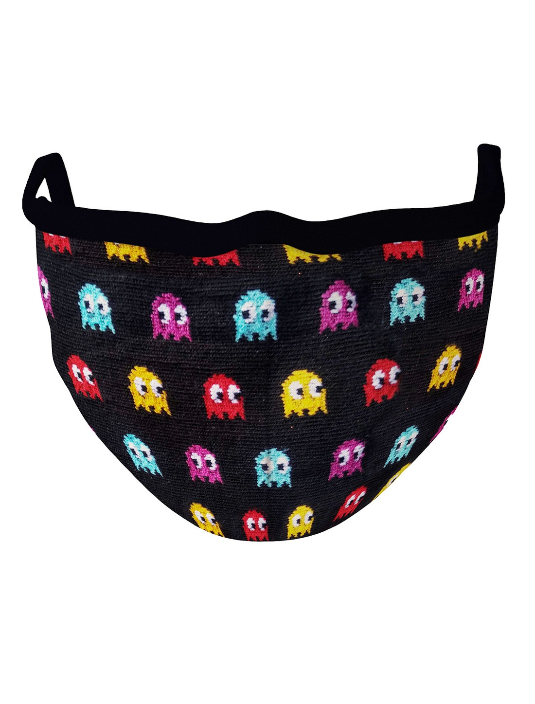 Soxytoes | Soxytoes Black Stylish Protective Super Safe Washable Knitted Cotton Mouth Cover Face Mask