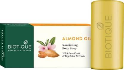 Biotique Advanced Ayurveda   BIOTIQUE Bio Almond Oil Nourishing Soap