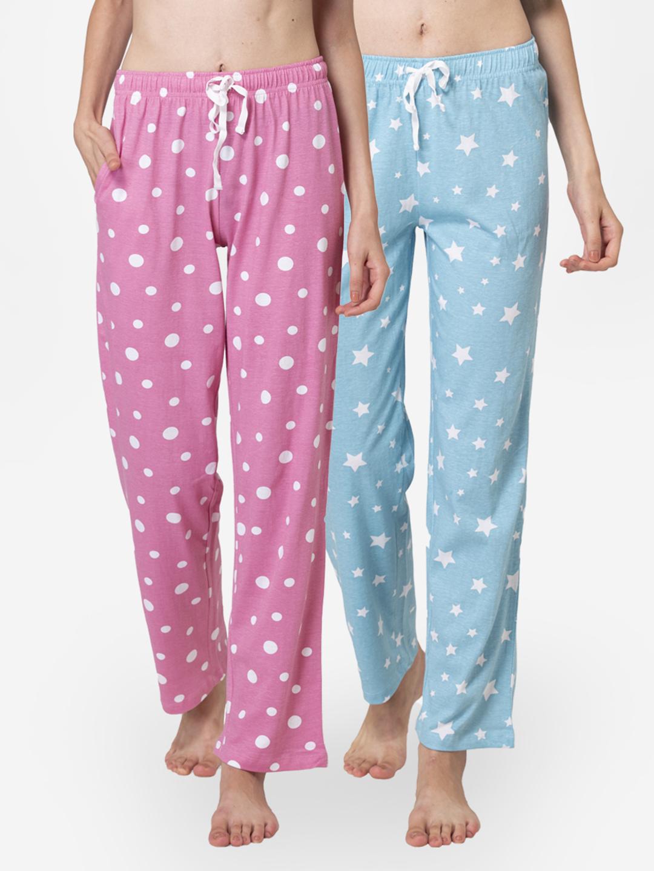 Lounge Dreams   LOUNGE DREAMS Womens 100% Cotton Pyjamas - Pack of 2