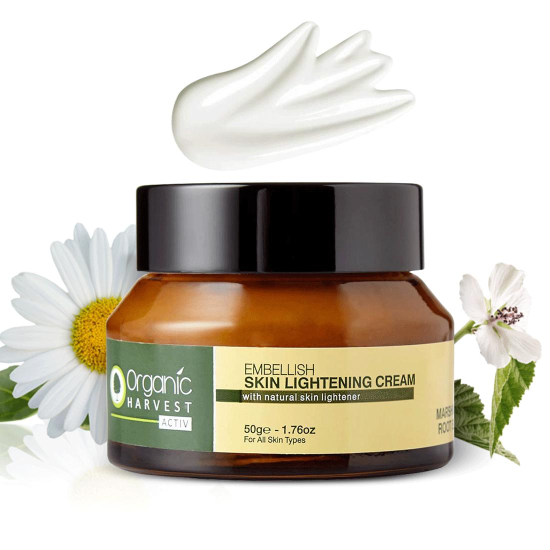 Organic Harvest | Skin Lightening Cream Activ Range, 50gm