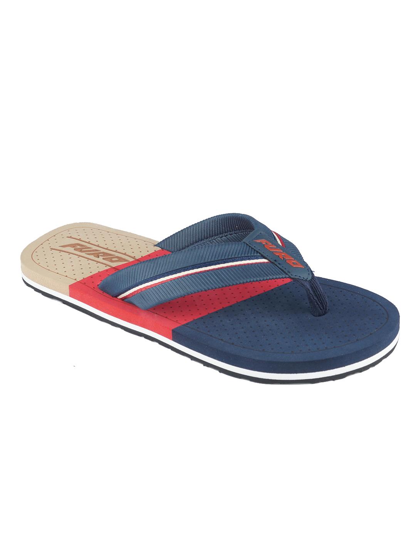 Furo   Furo Red/Navy Blue Flip-Flop For Men FF002 154