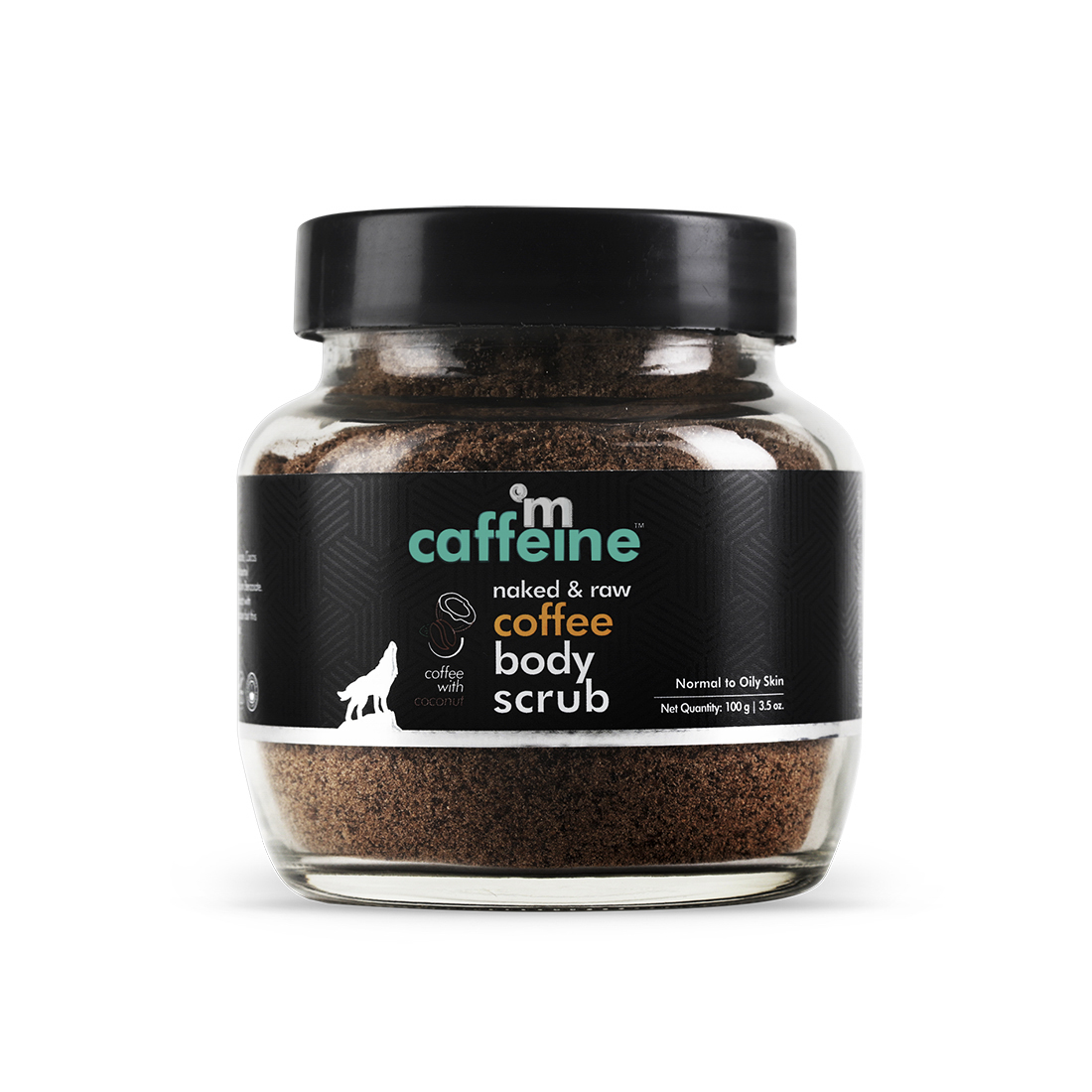 MCaffeine   mCaffeine Naked & Raw Tan Removal Coffee Body Scrub (100 g)
