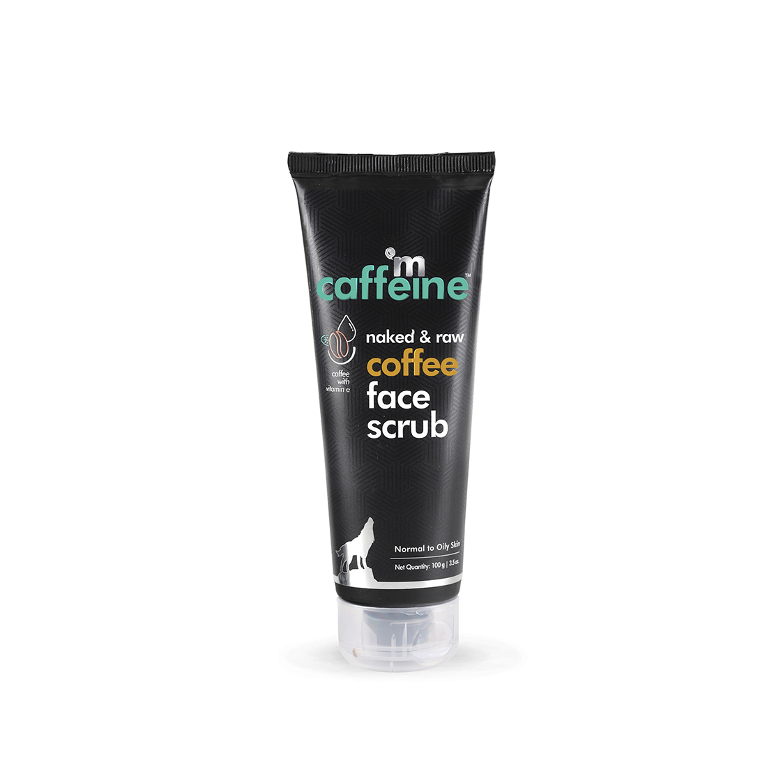 MCaffeine | mCaffeine Naked & Raw Tan Removal Coffee Face Scrub (100 g)
