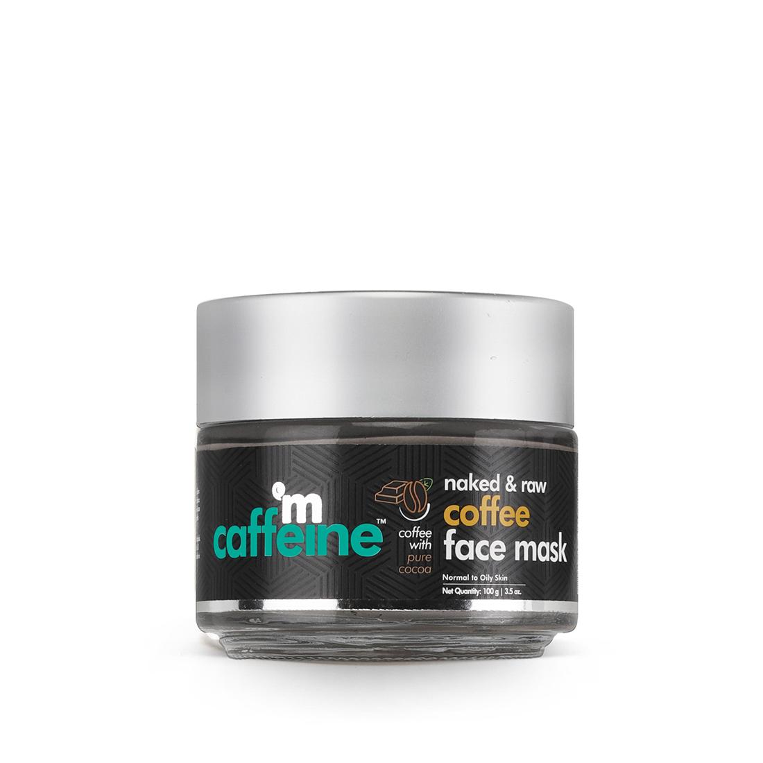 MCaffeine   mCaffeine Naked & Raw Tan Removal Coffee Face Mask (100g)