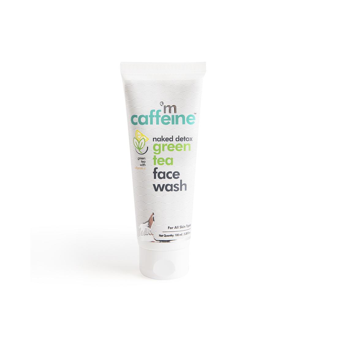 MCaffeine | mCaffeine Naked Detox Dirt Removal Green Tea Face Wash (100 ml)