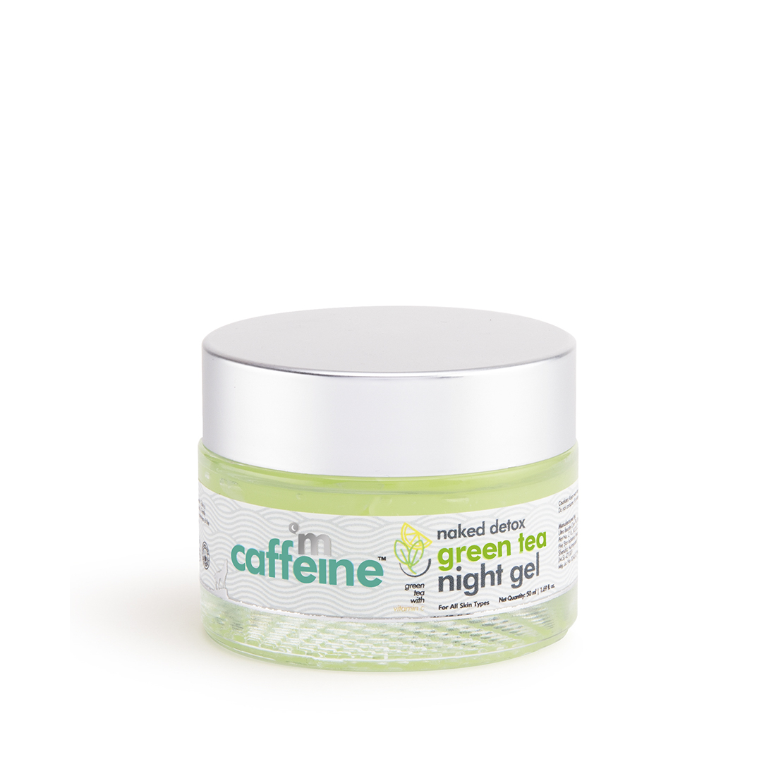 MCaffeine   mCaffeine Naked Detox Hydrating Green Tea Night Gel (50 ml)