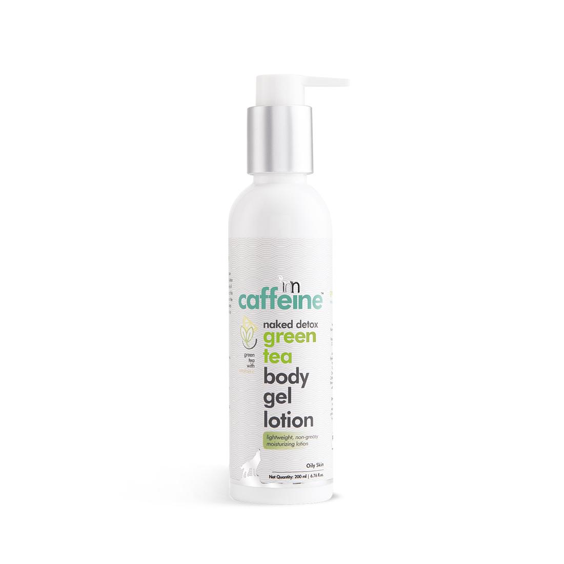 MCaffeine   mCaffeine Naked Detox Hydrating Green Tea Body Gel Lotion (200 ml)