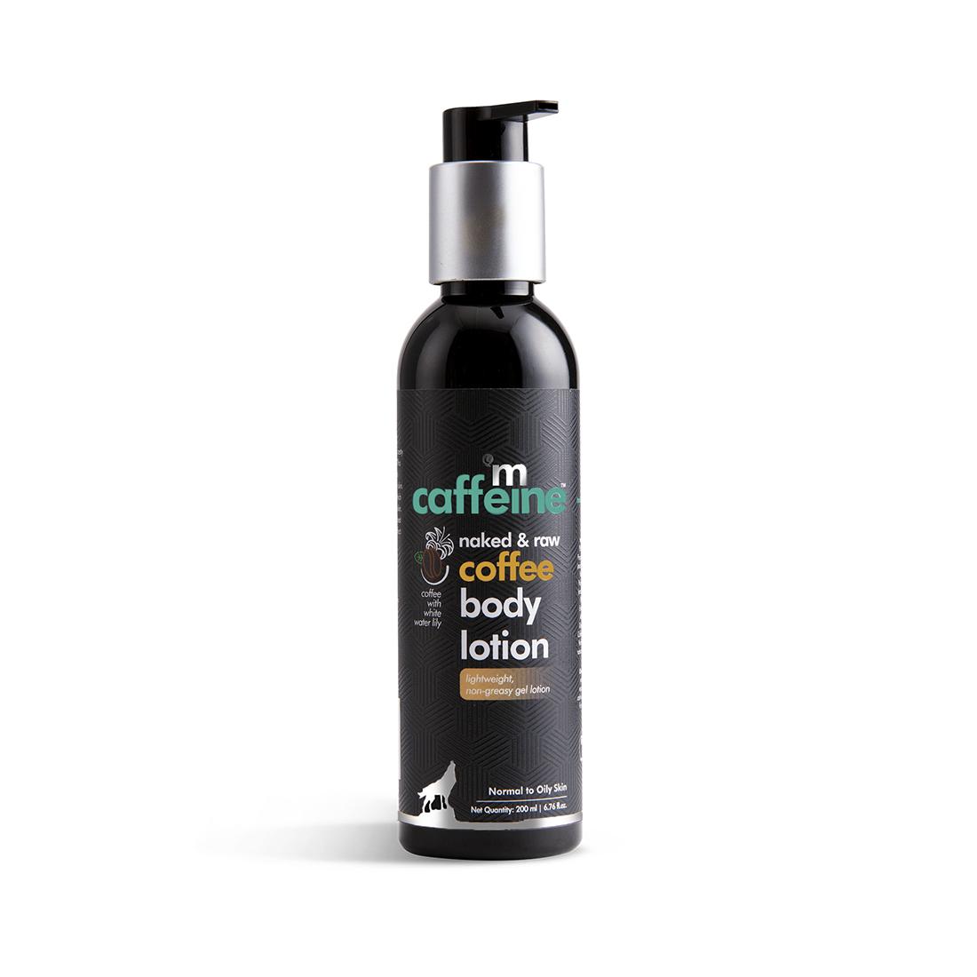 MCaffeine   mCaffeine Naked & Raw Moisturizing Coffee Body Lotion (200 ml)