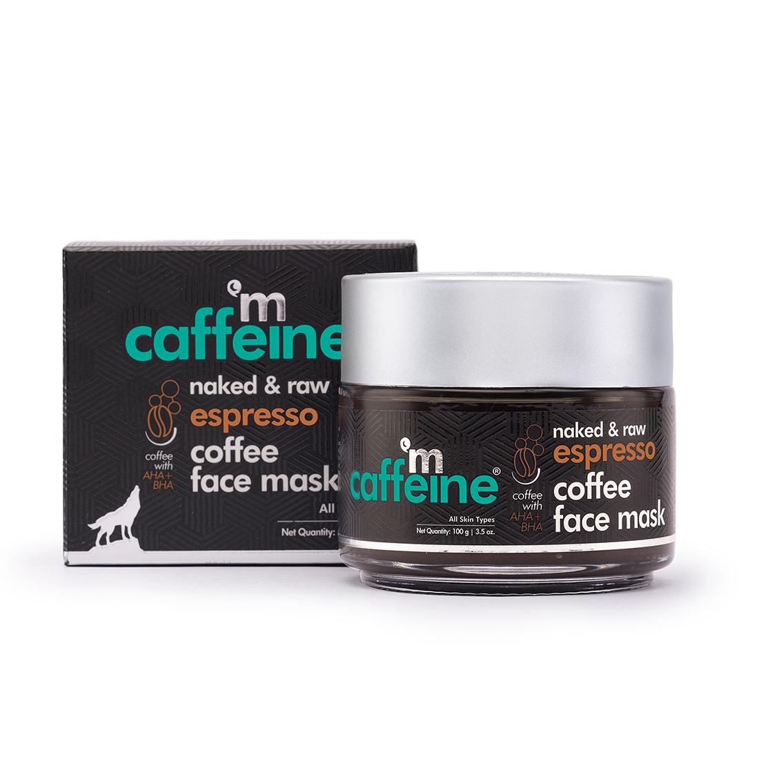 MCaffeine | mCaffeine Naked & Raw Espresso Coffee Face Mask