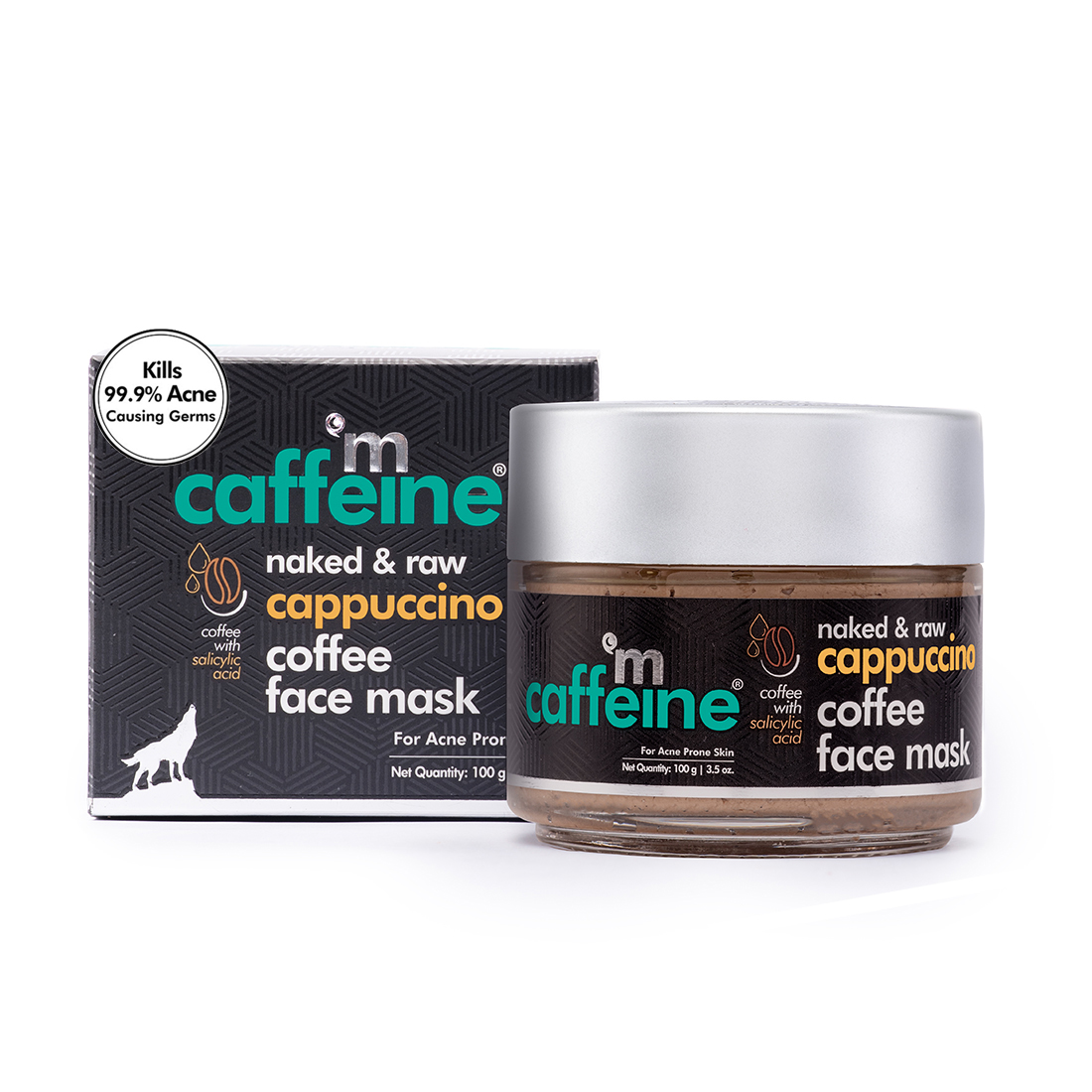 MCaffeine | mCaffeine Naked & Raw Cappuccino Coffee Face Mask