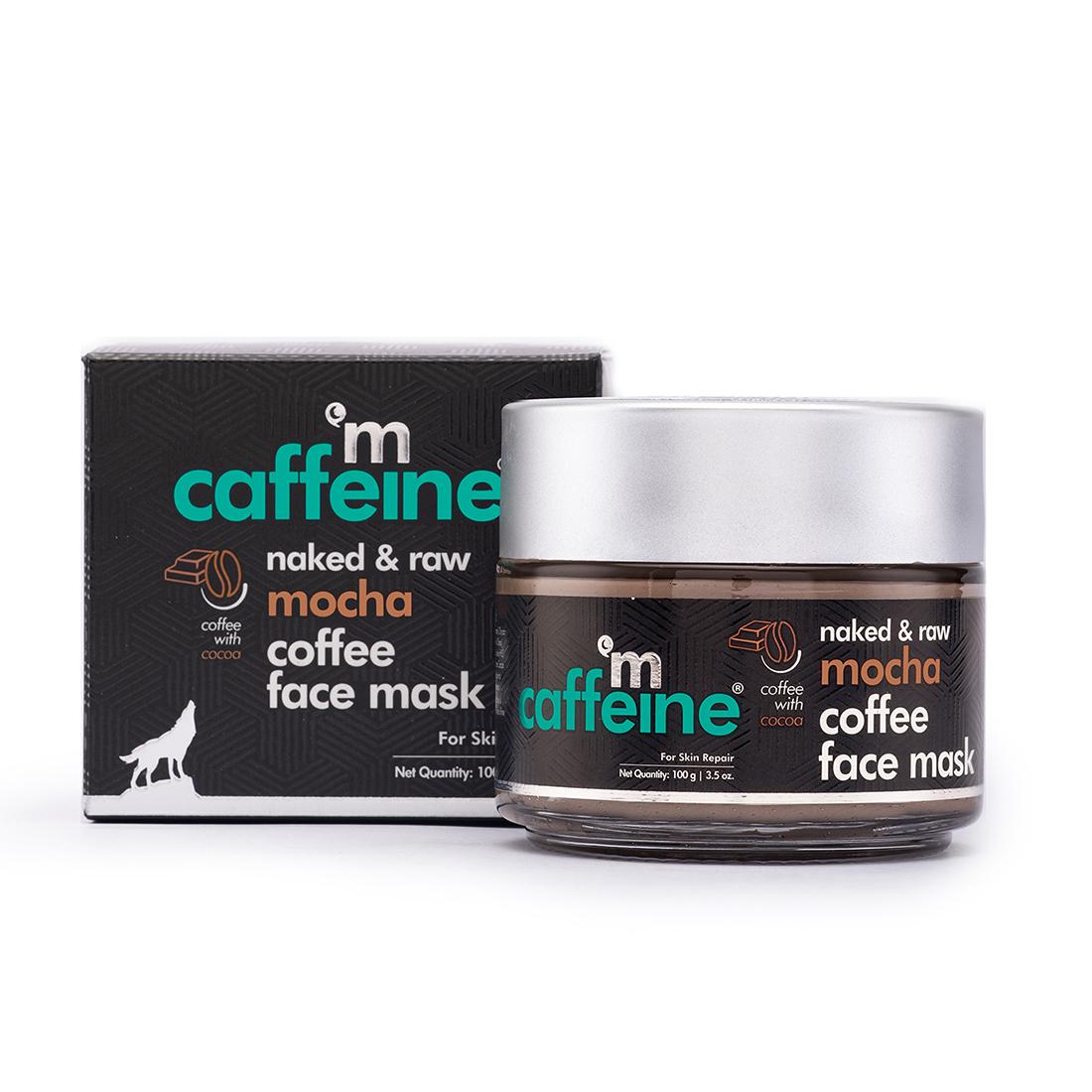 MCaffeine | mCaffeine Naked & Raw Mocha Coffee Face Mask