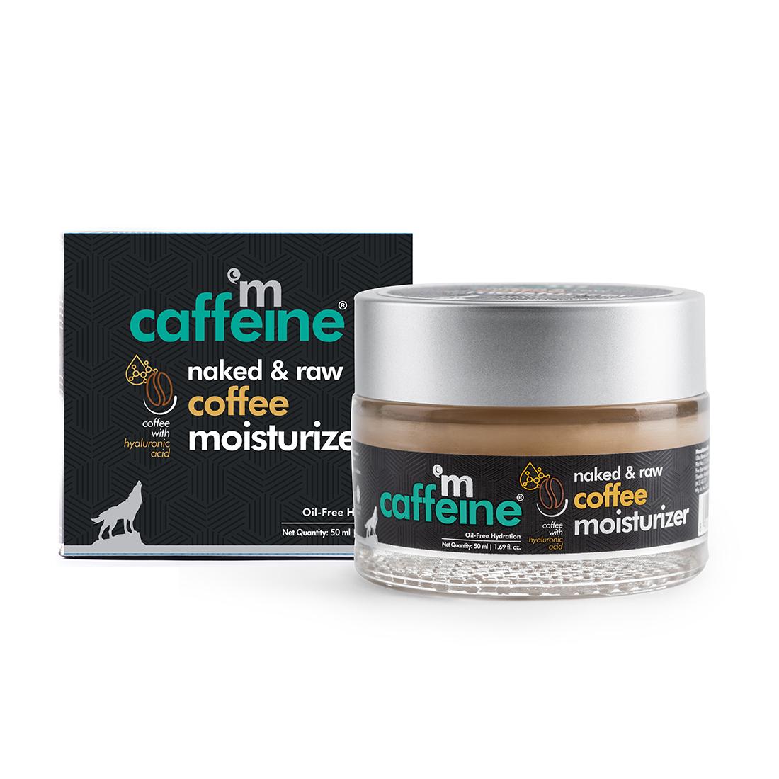 MCaffeine   mCaffeine Naked & Raw Coffee Face Moisturizer