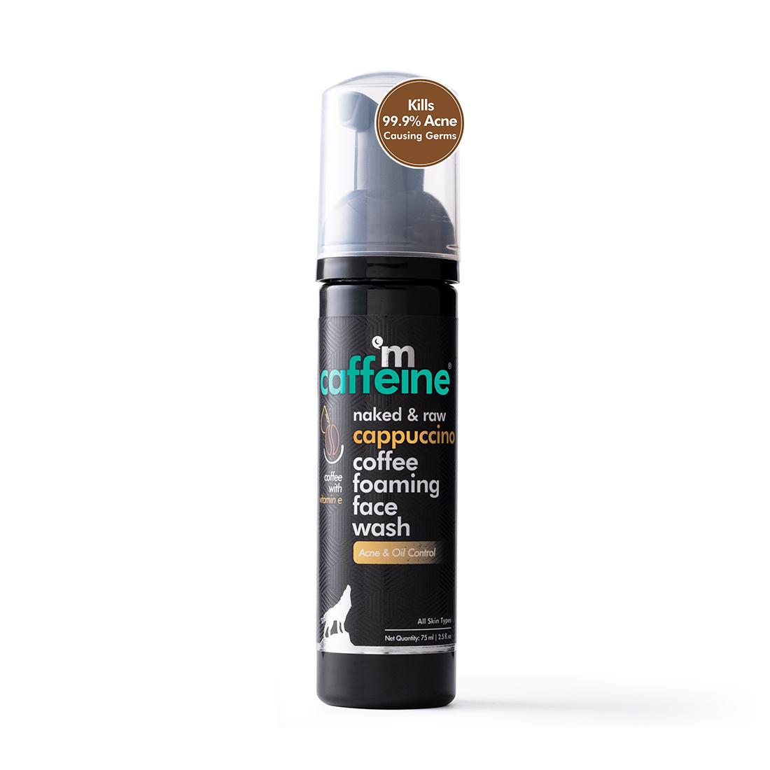 MCaffeine | mCaffeine Naked & Raw Cappuccino Coffee Foaming Face Wash