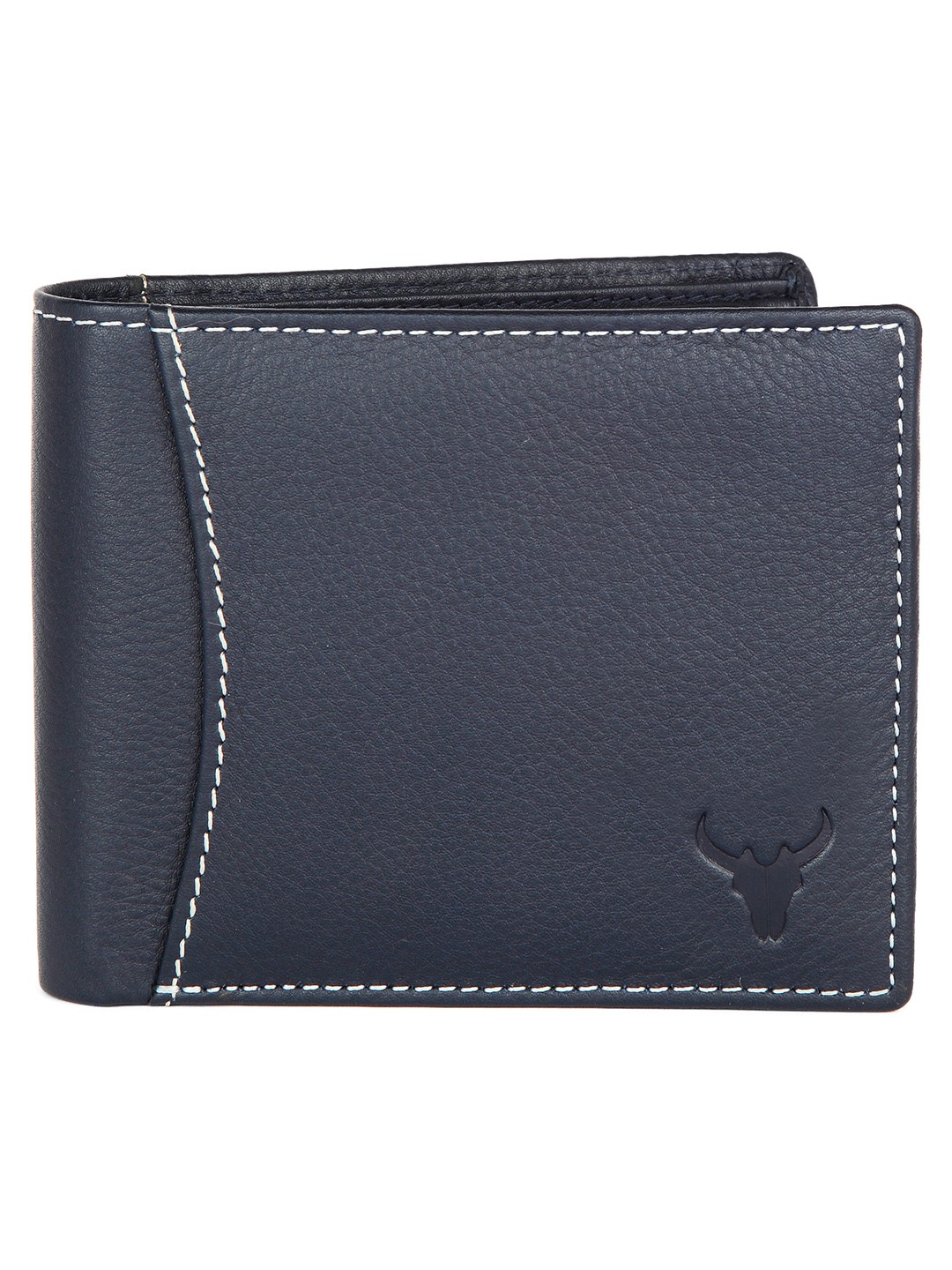 Napa Hide | Napa Hide RFID Protected Genuine High Quality Blue Leather Wallet For Men