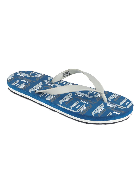 Furo | Furo Navy Blue/Grey Flip-Flop For Men FF006 793